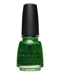 China Glaze Nail Lacquer, Celebri-Tree, 0.5 fl oz