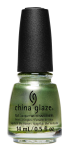 China Glaze Nail Lacquer, Famous Fir Sure, 0.5 fl oz