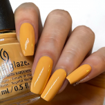 China Glaze Nail Lacquer, Tangerine Heat, 0.5 fl oz